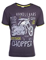 Ollypop T-Shirt Half Sleeves - Chopper Print