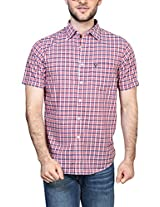 Allen Solly Men Regular Fit Shirt_AMSH315G03066_39_Pink