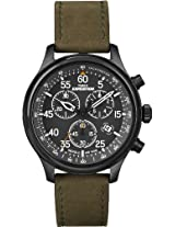 Timex Expedition Light Chronograph Black Dial Men's Watch - T49938