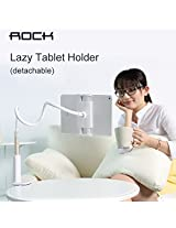 1pc ROCK 80cm ABS Metal detachable Long Arm Lazy Tablet Phone holder For iPad Air Mini 2 3 4 5 Bed Bracket Stand for iPhone 6 plus(Color: Gold)