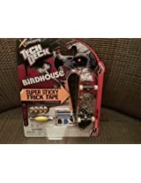 2012 tech deck Super Sticky Trick Tape - Birdhouse (Tony Hawk) Skateboard