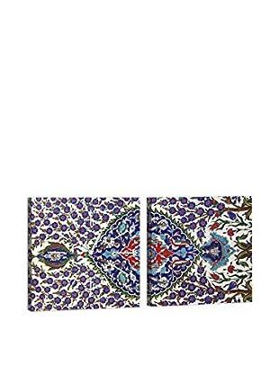 Dekorjinal Set, 2-teilig dekoratives Bild Mus152 (mehrfarbig)
