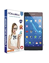 Cellbell Premium Tempered Glass Screen Protector for Sony Xperia Z2 (2.5D Curved Edges)(Clear)(Comes with Warranty)Complimentary Prep cloth