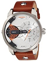 Diesel Chronograph Silver Dial Men's Watch - DZ7309
