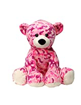 Pink Camo Teddy Bear Camouflage Plush Stuffed Animal Toy By Fiesta Toys 14""