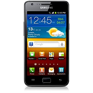 Samsung Galaxy S II GT-I9100 (Noble Black)