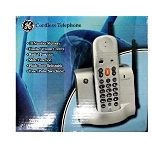 Details about GE Concorde Cordless Phone Landline Telephone Instrument Home Line