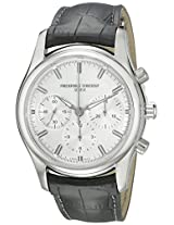 Frederique Constant Analogue White Dial Men's Watch - FC-396S6B6