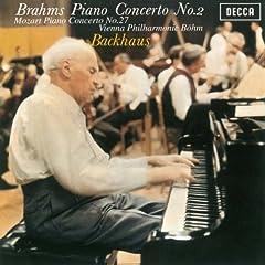 国内盤 バックハウス&ベーム ブラームス:ピアノ協奏曲第2番/モーツァルト:ピアノ協奏曲第27番のAmazonの商品頁を開く
