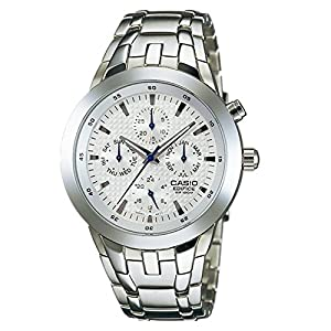 Casio Edifice Analog White Dial Men's Watch - EFA-312D-7AVDF (ED153)
