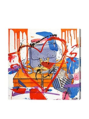 Oliver Gal My Bag Collection Remix Canvas Art