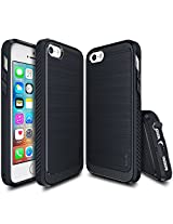 iPhone SE Case, Ringke [ONYX] [Resilient Strength] Flexible Durability, Durable Anti-Slip, TPU Defensive Case for Apple iPhone SE (2016) / 5S (2013) / 5 (2012) - Midnight Navy