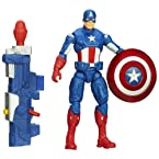 Captain America Super Soldier Gear Shockwave Blast Action Figure