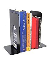 Neat Metal Bookends With Non-Skid Base - Pack of 2 Pcs