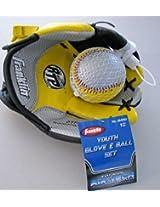 Baseball Glove & Ball - Yellow