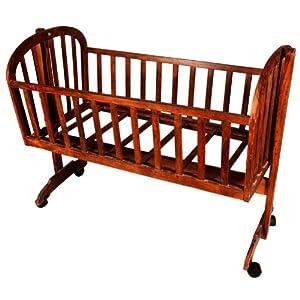 Luft Creations - Wooden Baby Cradle