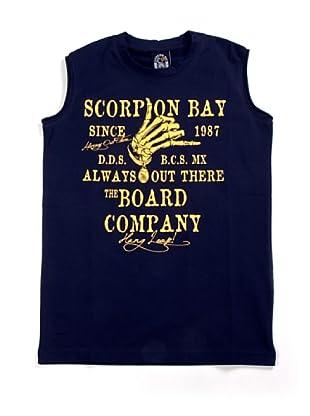 Scorpion Bay Camiseta SM Mano (Azul Marino)