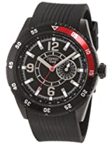 Esprit Varsity Red Analog Black Dial Men's Watch ES104131003