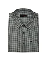 Blog Men's Black Full Sleeve Formal Shirt-FS20