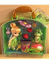 Disney Animators Collection Tinker Bell Mini Doll Play Set 5 New