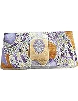 La Florentina Lavender Wreath 3 Bars 150 Gram Italian Soap