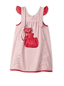 4EverPrincess Girl's Pip Dress (Red)