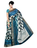 Saree Sansarr Saree (211_Blue)