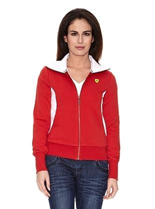 Ferrari Sudadera Zip (Rojo)