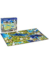 4D Cityscape Inc 4D National Geographic Greece Puzzle Puzzle
