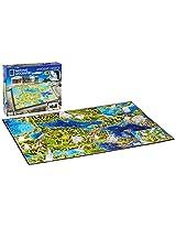 4D Cityscape Inc 4D National Geographic Greece Puzzle Puzzle