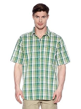 Columbia Camisa Chalón sobre el Saona (Verde)