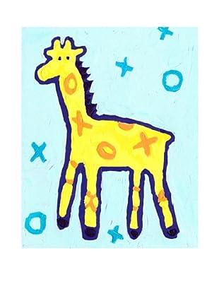 "Cici Art Factory X & O Giraffe, 8""x 10"""