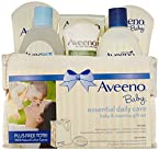 Aveeno Daily Care Essentials Basket Baby and Mommy Gift Set
