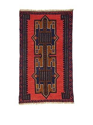Eden Teppich Beluchistan rot/blau 82 x 137 cm