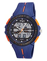 Maxima Ego Analog-Digital Multi-Color Dial Unisex Watch - E-33230PPAN