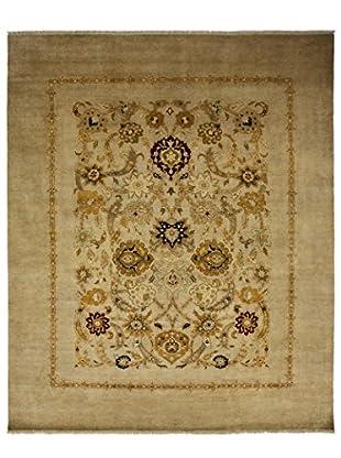Darya Rugs Traditional Oriental Rug, Sand, 8' 1