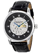 Stuhrling Original Men's 585.02 Symphony Magnifique Analog Display Automatic Self Wind Black Watch