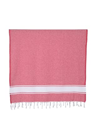 Nine Space Ayrika Collection Classic Fouta Towel (Red)