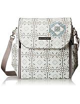 Petunia Pickle Bottom Boxy Backpack Diaper Bag in Sleepy Seychelles