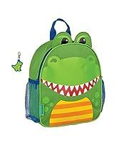 Stephen Joseph Mini Sidekick Dinosaur Backpack and Zipper Pull - Toddler Backpacks