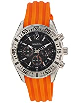 Nautica Sports Chronograph Black Dial Men's Watch - NTA17666G