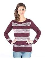 Again Women's Slim Fit Sweater