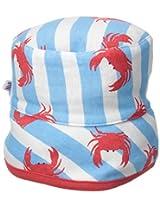 New Jammies Baby-Boys Newborn Hat Crabs N'Stripes, Blue, 3-6 Months