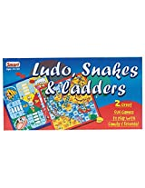 Smart Ludo Snakes & Ladders 2 to 4 Players