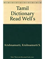 Tamil Dictionary Read Well's