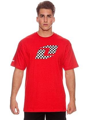 One Industries Camiseta Checkred (Rojo)
