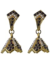 Ishita Fashion Gold coloured Jhumki Earring for Women