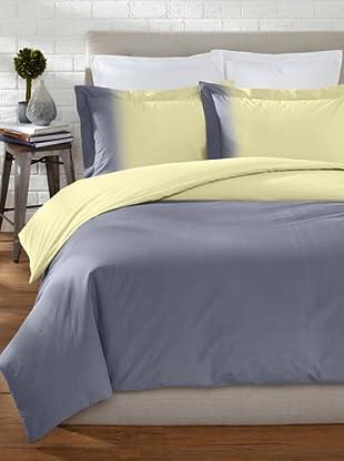 OYO Bedding Dip-Dye Percale Duvet Set