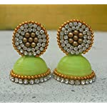Green Traditional Jhumka
