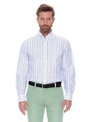 Cortefiel Camisa Multirraya Lino